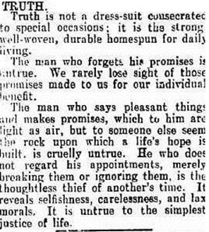 truthCamperdown Chronicle (Vic. 1877-1954), Thursday 25 November 1937