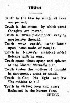 truthNorthern Territory Times (Darwin, NT  1927-1932), Friday 8 July 1927