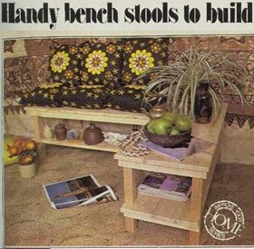 BENCH STOOLS The Australian Women's Weekly (1932-1982), Wednesday 10 November 1976