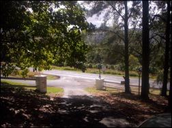 down driveway