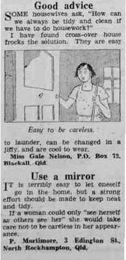 good adviceThe Australian Women's Weekly (1932-1982), Saturday 20 January 1940