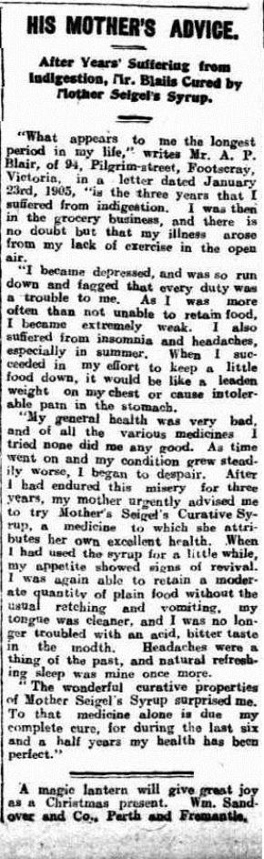 Sunday Times (Perth, WA  1902-1954), Sunday 17 December 1905,