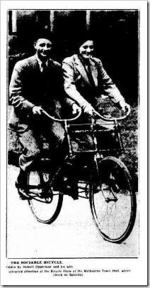 bike The Argus (Melbourne, Vic. 1848-1954), Monday 23 October 1933,