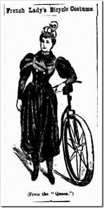 BIKE The Broadford Courier and Reedy Creek Times (Broadford, VIC 1893-1916), Friday 6 July 1894,