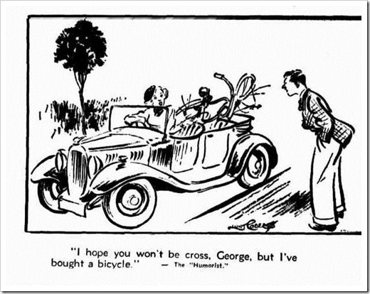 BIKE Western Mail (Perth, WA 1885-1954), Thursday 30 January 1936