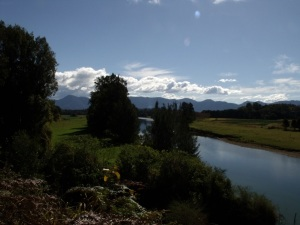 Bellinger Valley with Dorrigo Mountain Range