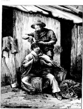 bush barber The Australasian Sketcher with Pen and Pencil (Melbourne, Vic.  1873 - 1889), Saturday 29 July 1882