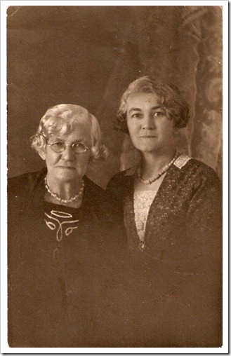 grandma and aunty maude