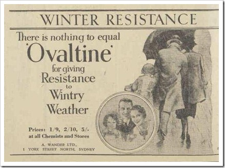 OVALTINE The Australian Women's Weekly (1932 - 1982), Saturday 25 May 1940
