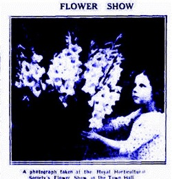 FLOWER GLAD The Argus (Melbourne, Vic. 1848 - 1956), Friday 14 February 1930,