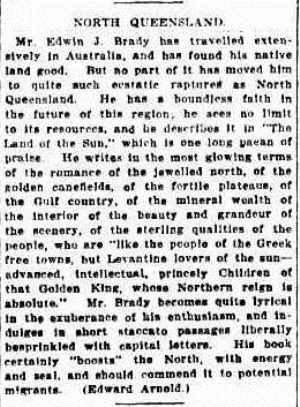 fnq The Sydney Morning Herald (NSW 1842 - 1954), Saturday 19 July 1924
