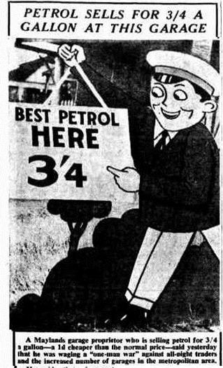petrol The West Australian (Perth, WA  1879 - 1954), Thursday 6 August 1953,