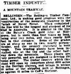 tram The Sydney Morning Herald (NSW 1842 - 1954), Monday 18 December 1911,