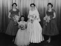 57 betty's wedding 2 mar 1957