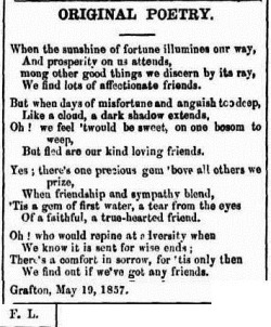 comfort The Moreton Bay Courier (Brisbane, Qld. 1846 - 1861), Saturday 6 June 1857