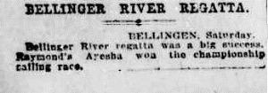 race The Sydney Morning Herald (NSW 1842 - 1954), Monday 30 January 1922,