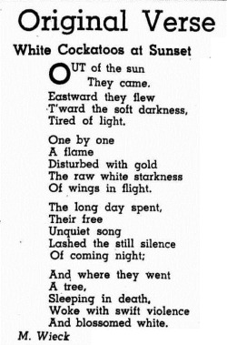 sunset Western Mail (Perth, WA  1885 - 1954), Thursday 21 August 1952