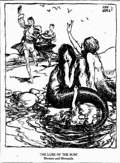mermen The Brisbane Courier (Qld. 1864 - 1933), Saturday 22 December 1928,