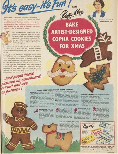BAKE The Australian Women's Weekly (1933 - 1982), Wednesday 28 November 1951