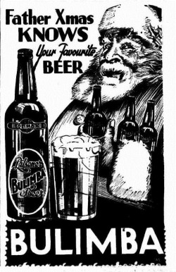SANTA BEER The Courier-Mail (Brisbane, Qld.  1933 - 1954), Saturday 16 December 1933