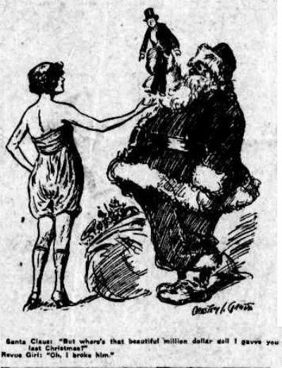 SANTA DOLL Townsville Daily Bulletin (Qld. 1885 - 1954), Monday 27 December 1926,