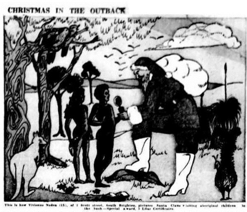 santa The Mail (Adelaide, SA 1912 - 1954), Saturday 20 December 1947