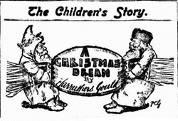 SANTA TWO Examiner (Launceston, Tas.  1900 - 1954), Saturday 24 December 1904,