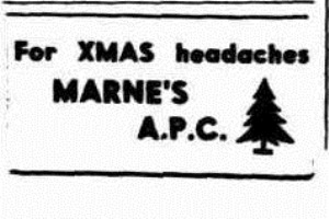 XMAS APC Morning Bulletin (Rockhampton, Qld.  1878 - 1954), Monday 3 December 1945,