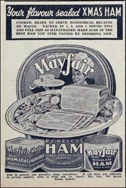 XMAS HAM The Australian Women's Weekly (1933 - 1982), Saturday 23 November 1940,