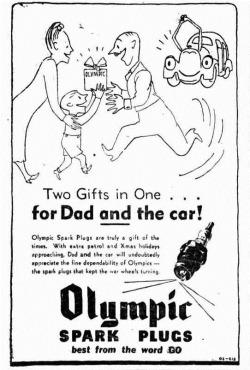 xmas spark plugs Sunday Times (Perth, WA  1902 - 1954), Sunday 3 February 1946,