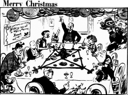 xmas The Courier-Mail (Brisbane, Qld.  1933 - 1954), Saturday 23 December 1939,
