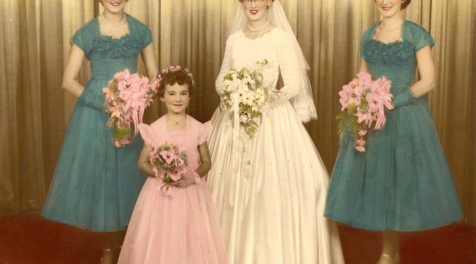 1957 – AUNTIE BETTY'S WEDDING