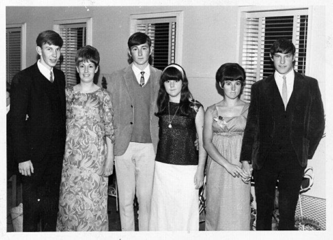 1967 – LAST YEAR AT HIGH SCHOOL